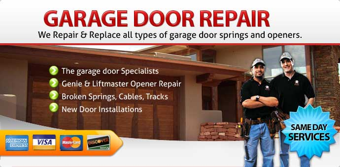 Garage door repair Ladera Ranch CA